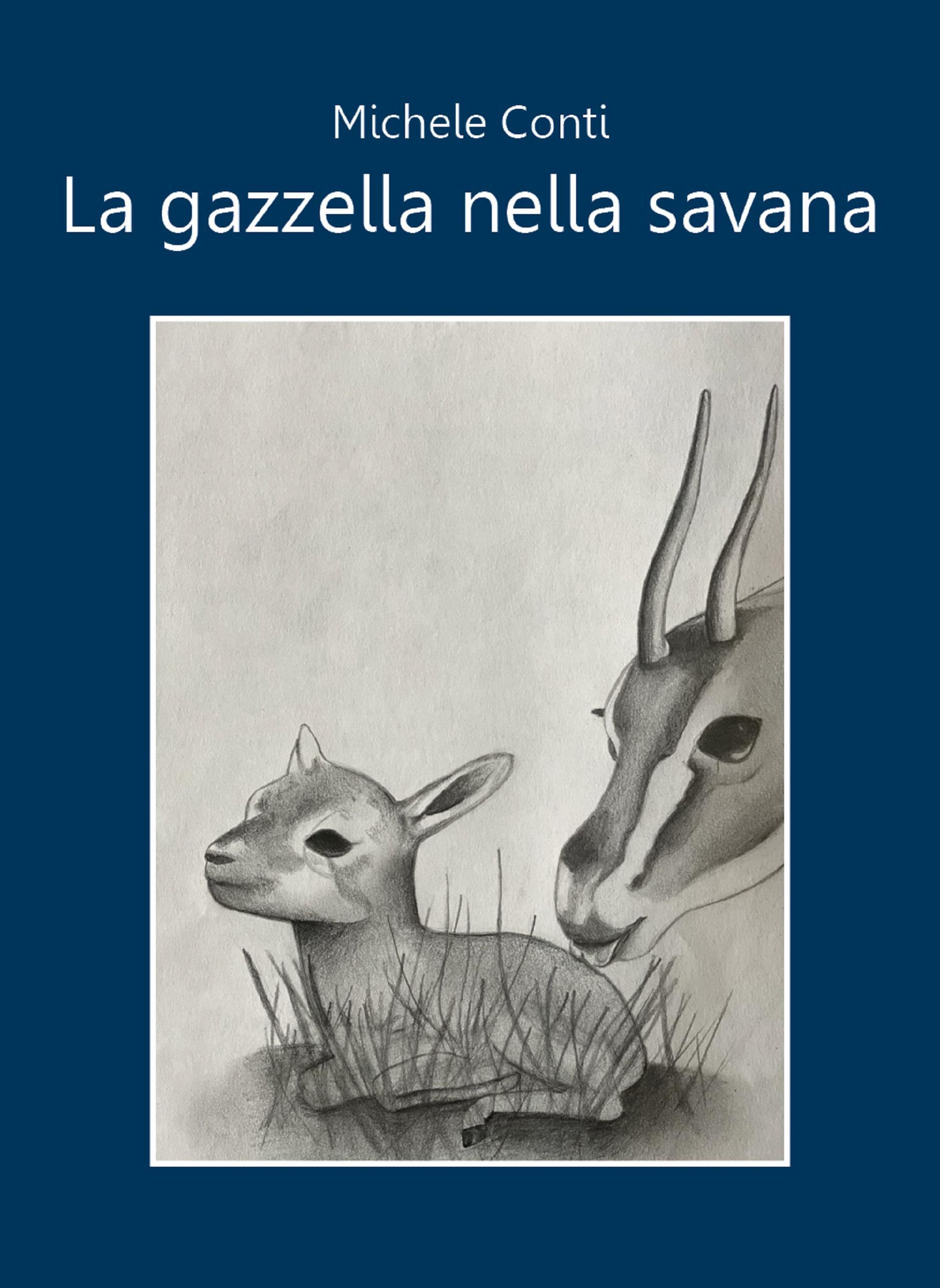 La gazzella nella savana