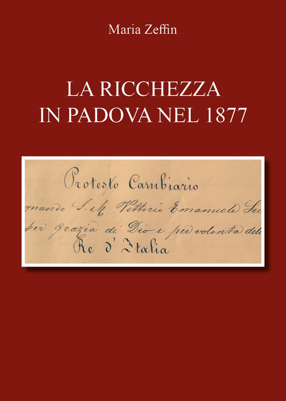 Le denunzie di successione in Padova nel 1877