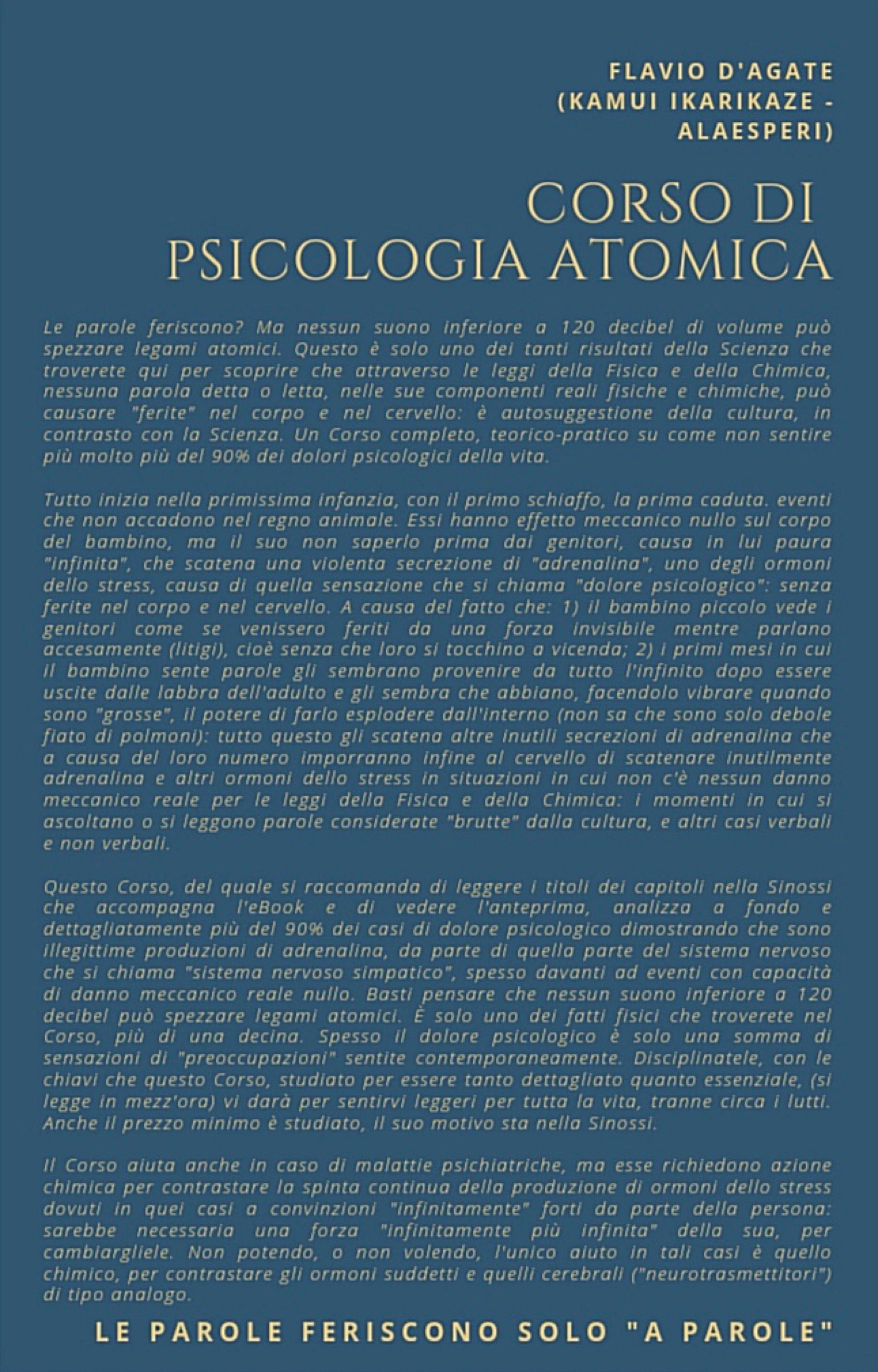 Corso di Psicologia Atomica