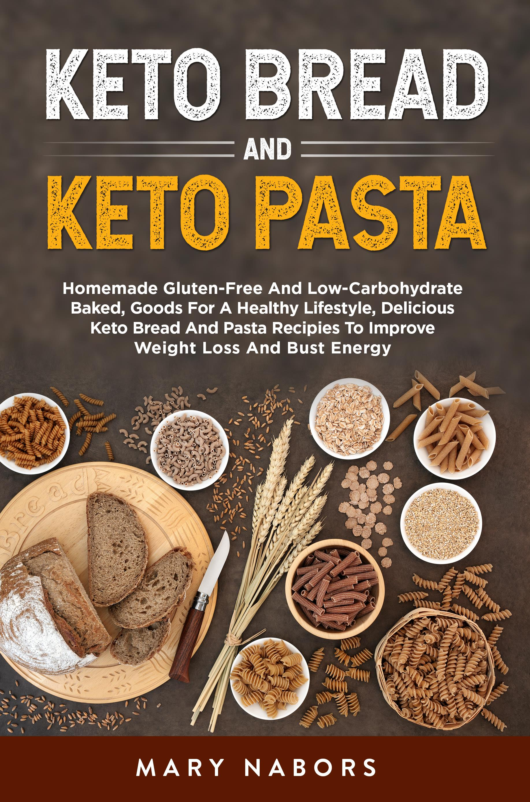 Keto bread and keto pasta