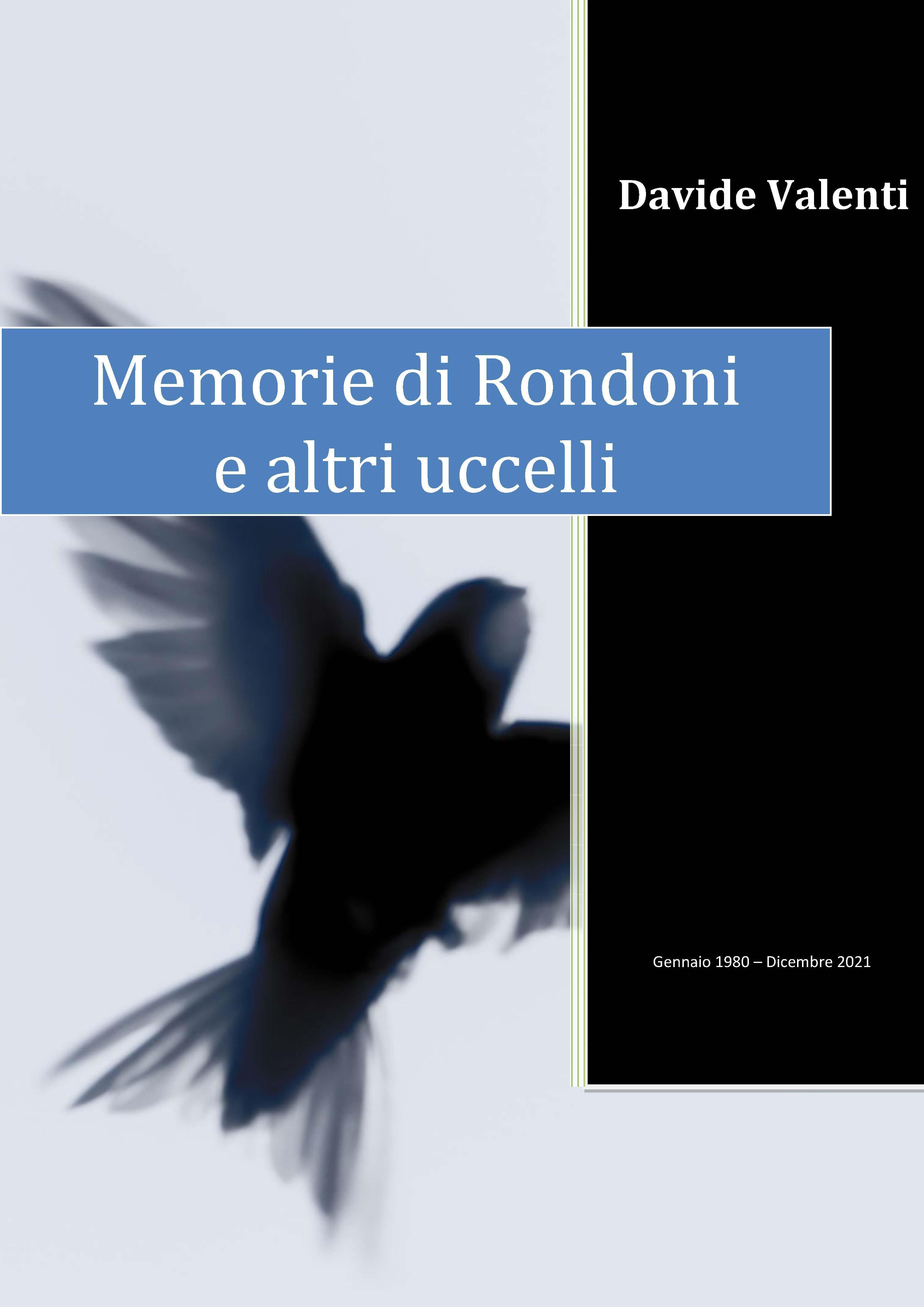 Memorie di Rondoni e altri uccelli (di Civitavecchia e dintorni)