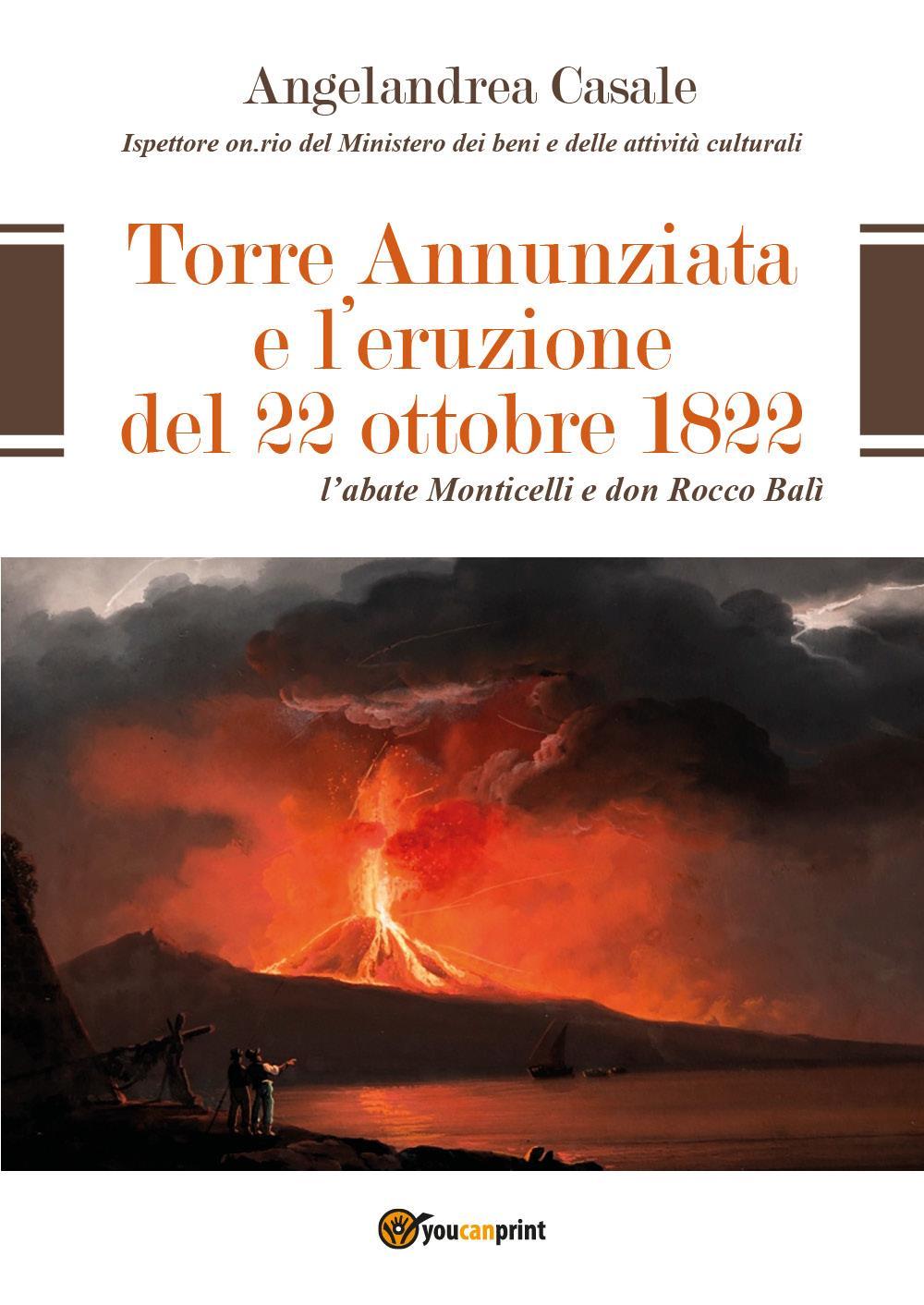 Torre Annunziata e l'eruzione del 22 ottobre 1822
