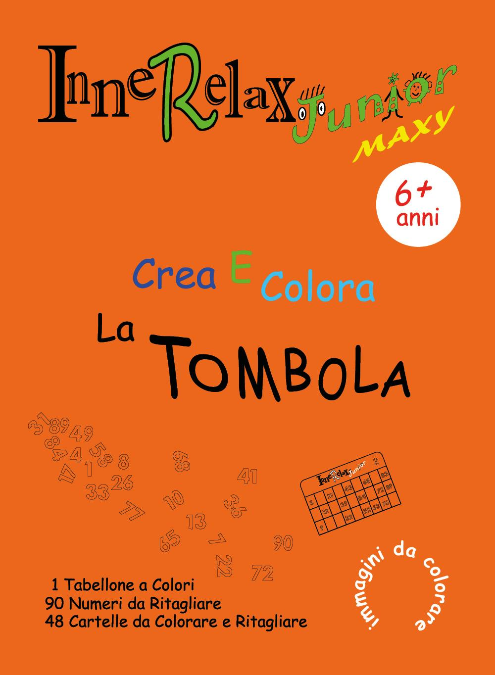 Innerelax Junior Maxy - Crea e Colora la Tombola