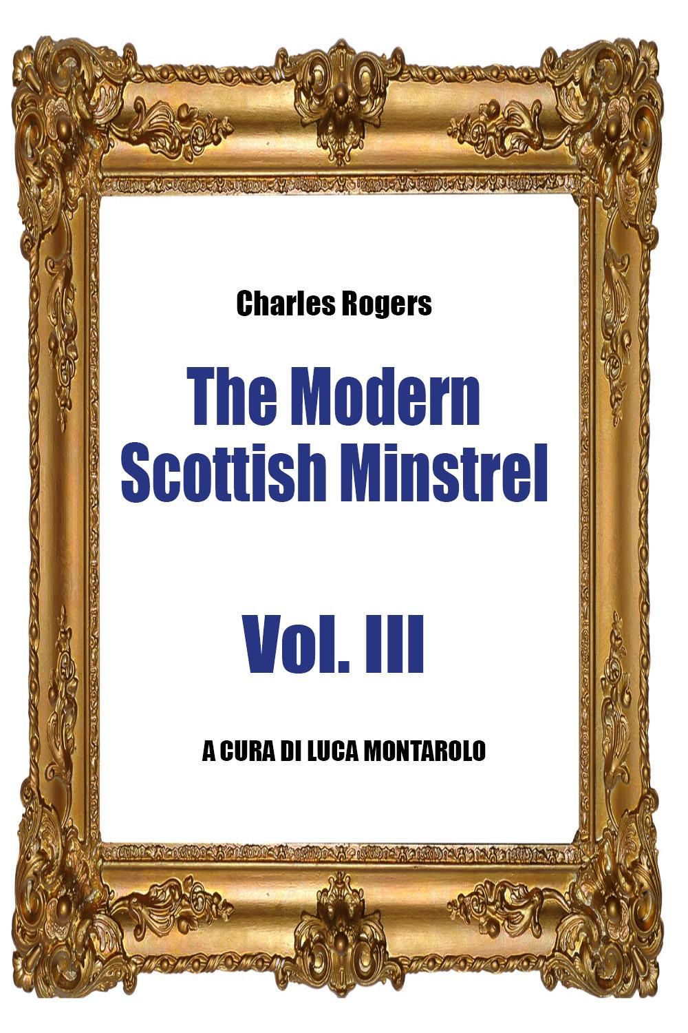 The Modern Scottish Minstrel - Volume III