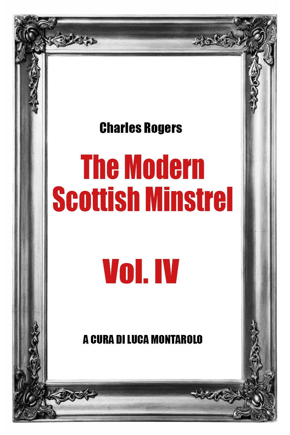 The Modern Scottish Minstrel , Volume IV