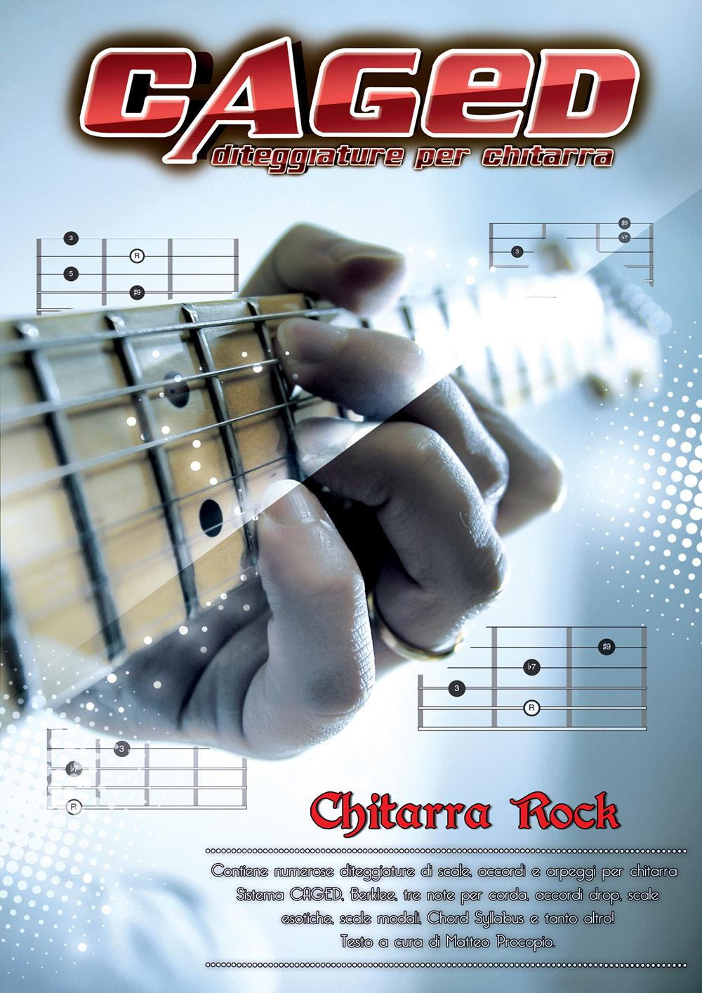 CAGED diteggiature per chitarra