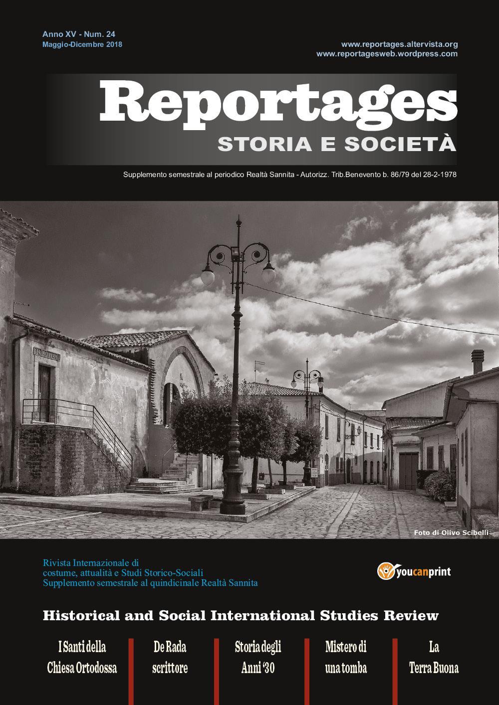 Reportages Storia & Società numero 24
