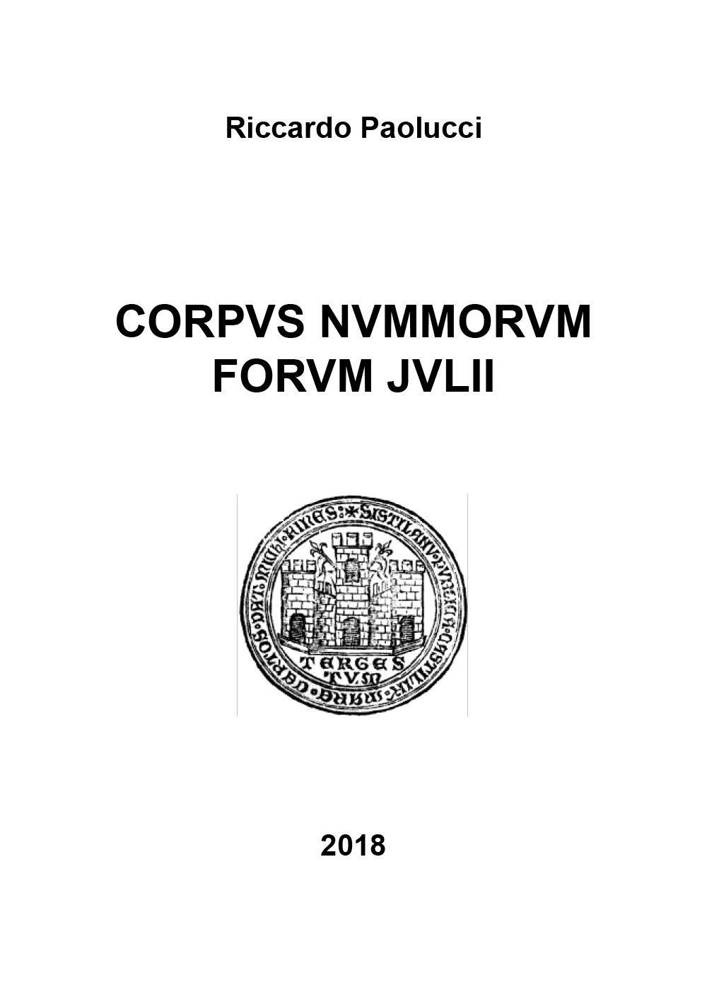 Corpus nummorum forum julii