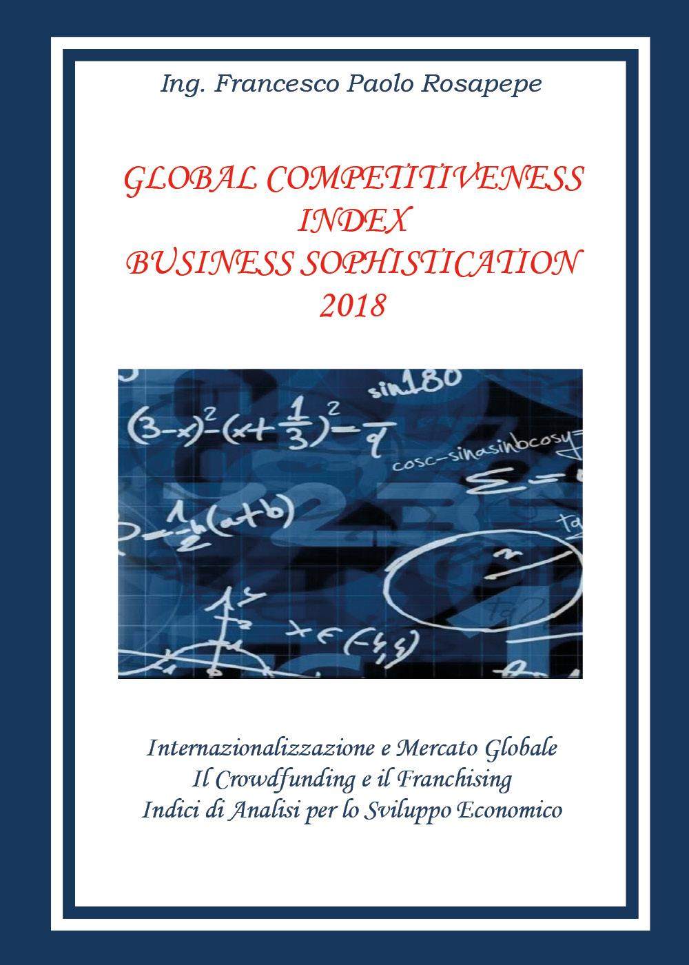 Global competitiveness index business sophistication