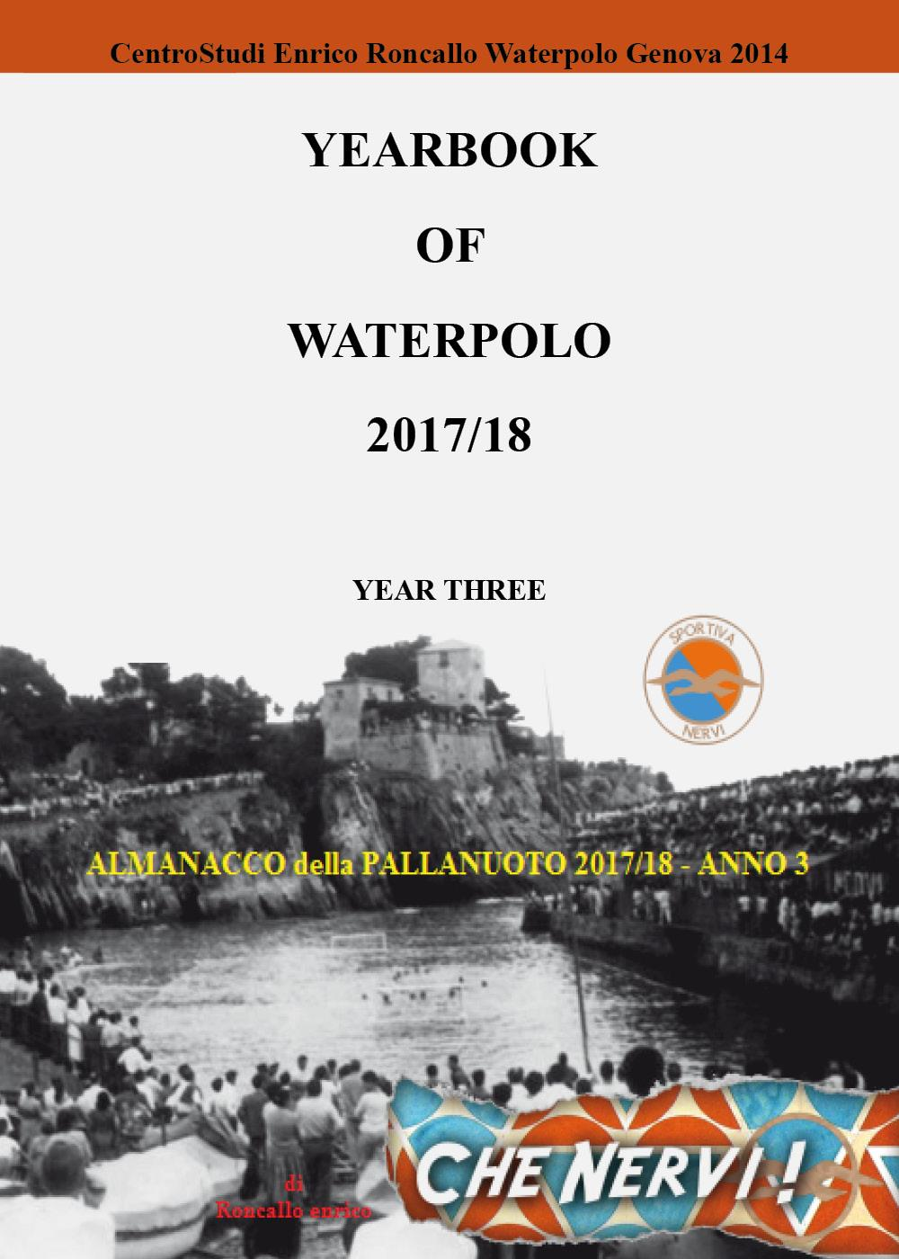 YEARBOOK OF WATERPOLO 2017/18 Vol. 3