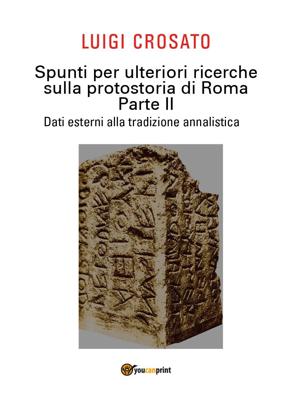 Spunti per ulteriori ricerche sulla protostoria di Roma - Parte II - Dati esterni alla tradizione annalistica