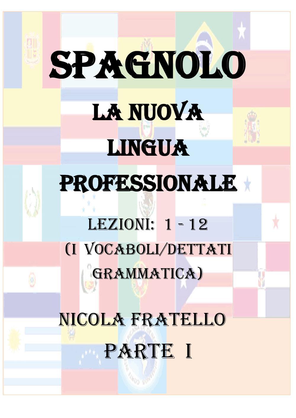 La Nuova Lingua Professionale Spagnolo - Parte I