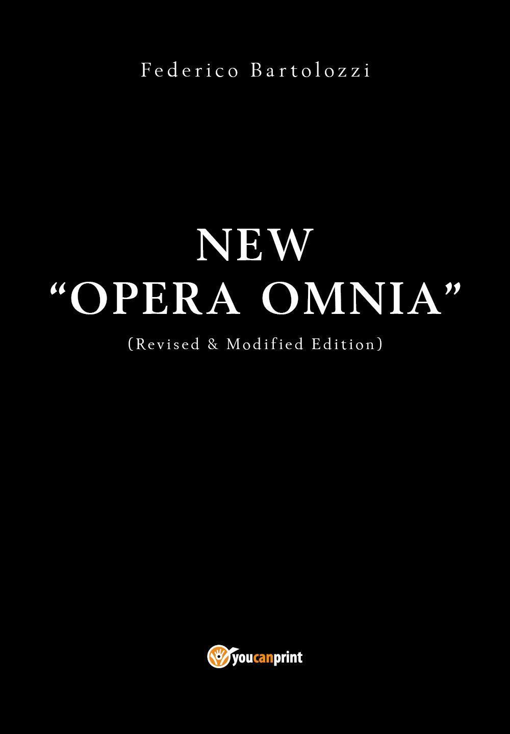 """New """"OPERA OMNIA"""""""