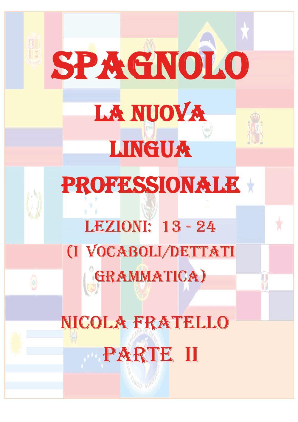 La Nuova Lingua Professionale Spagnolo - Parte II