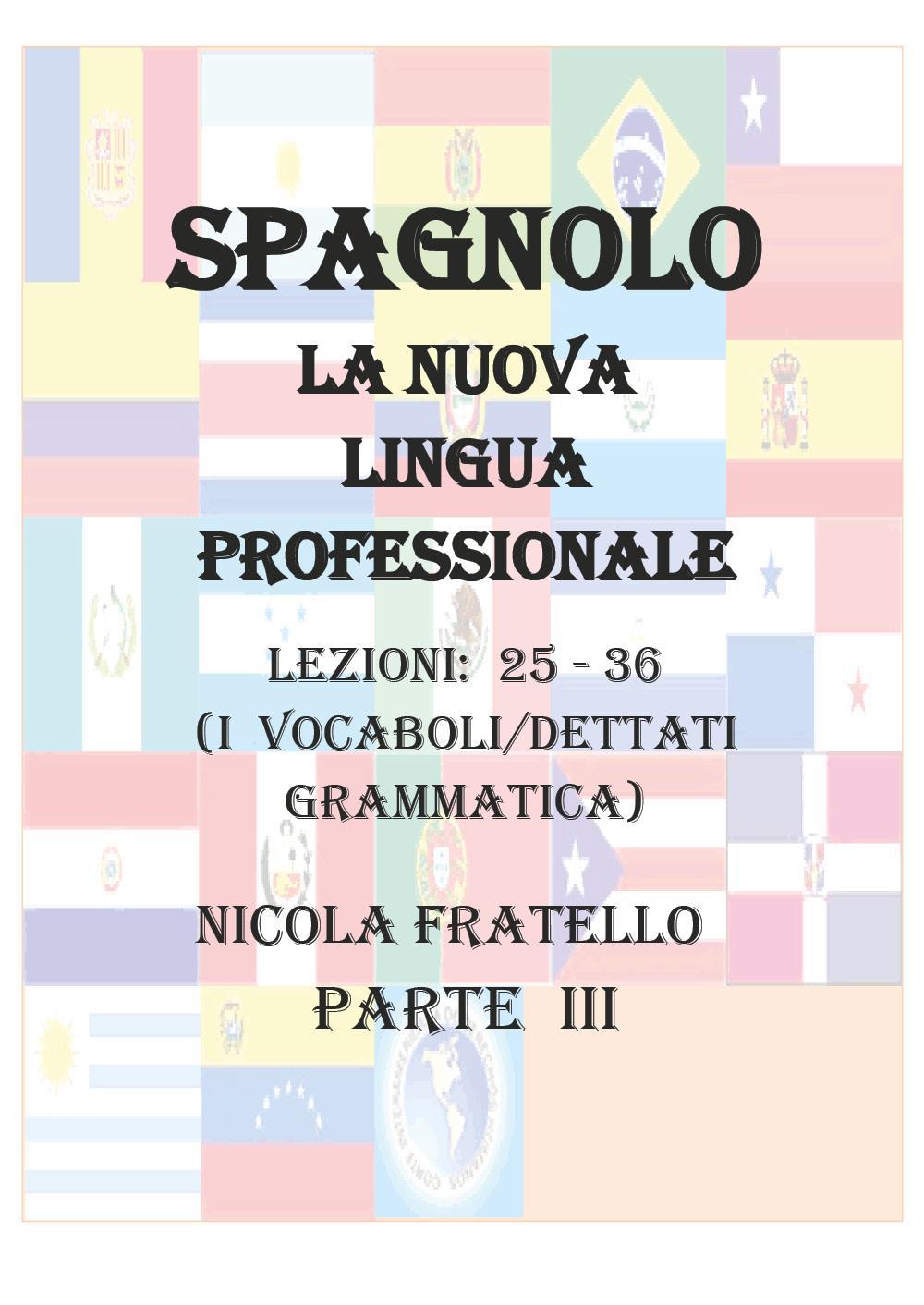 La Nuova Lingua Professionale Spagnolo - Parte III