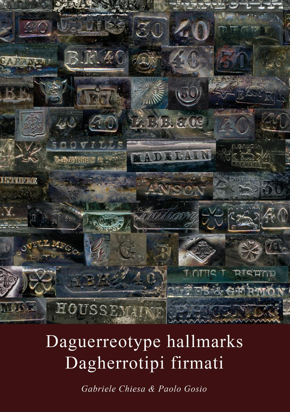 Daguerreotype hallmarks - Dagherrotipi firmati
