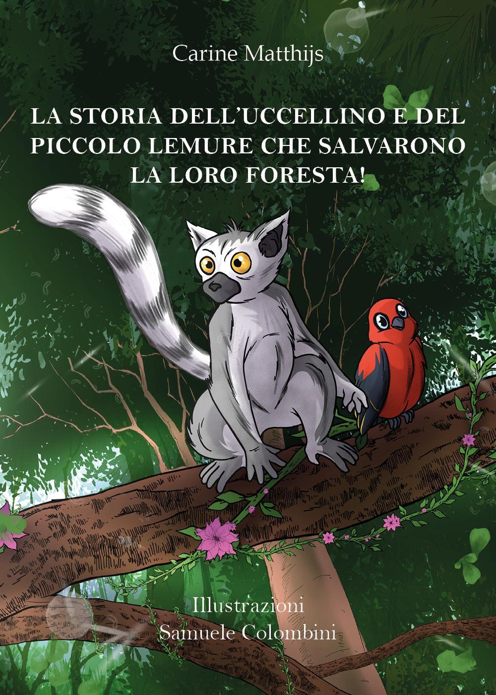 La storia dell'uccellino e del piccolo lemure che salvarono la loro foresta!