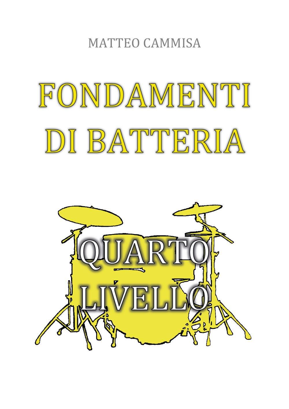 Fondamenti di batteria - quarto livello
