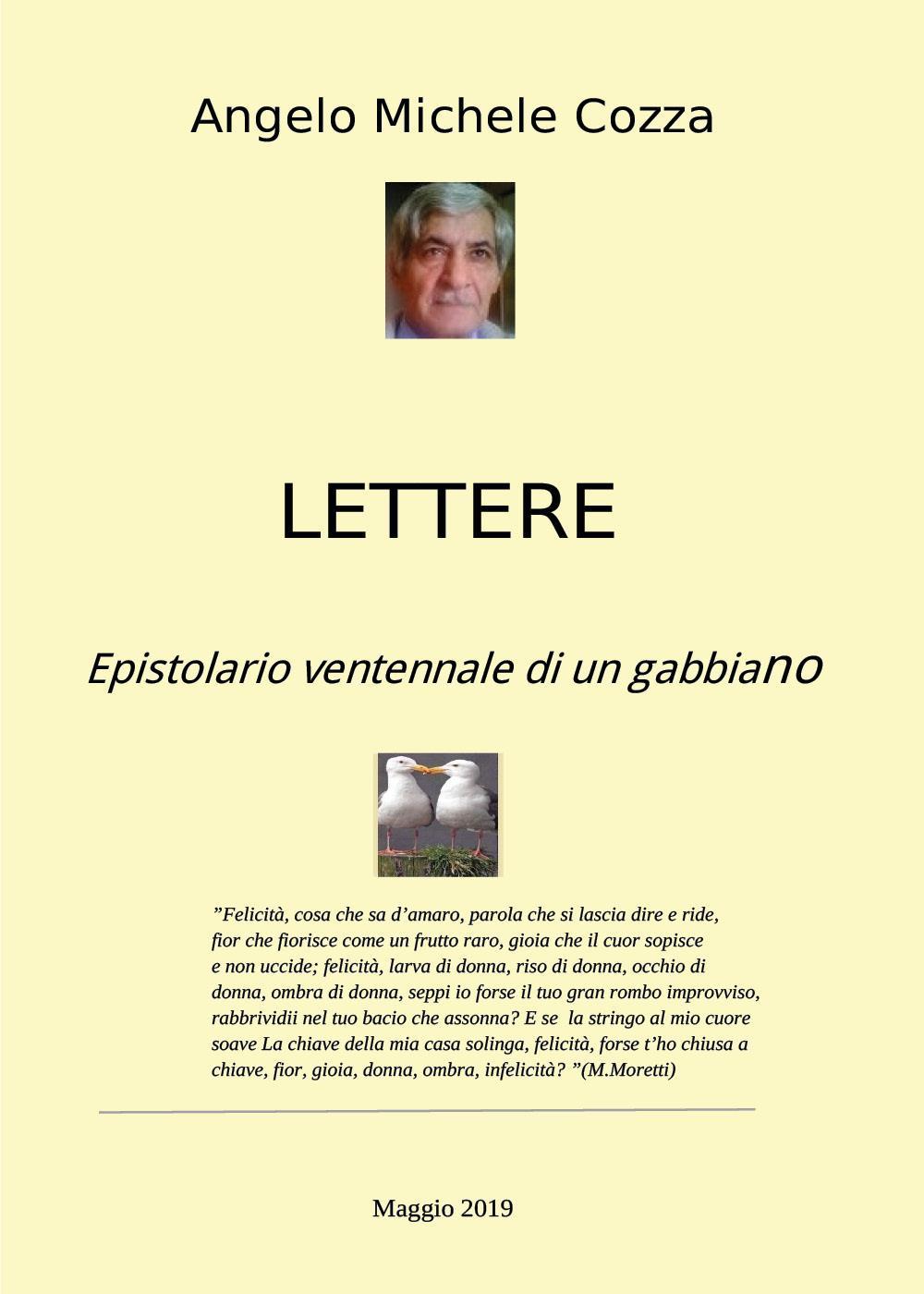 Lettere Epistolario ventennale di un gabbiano