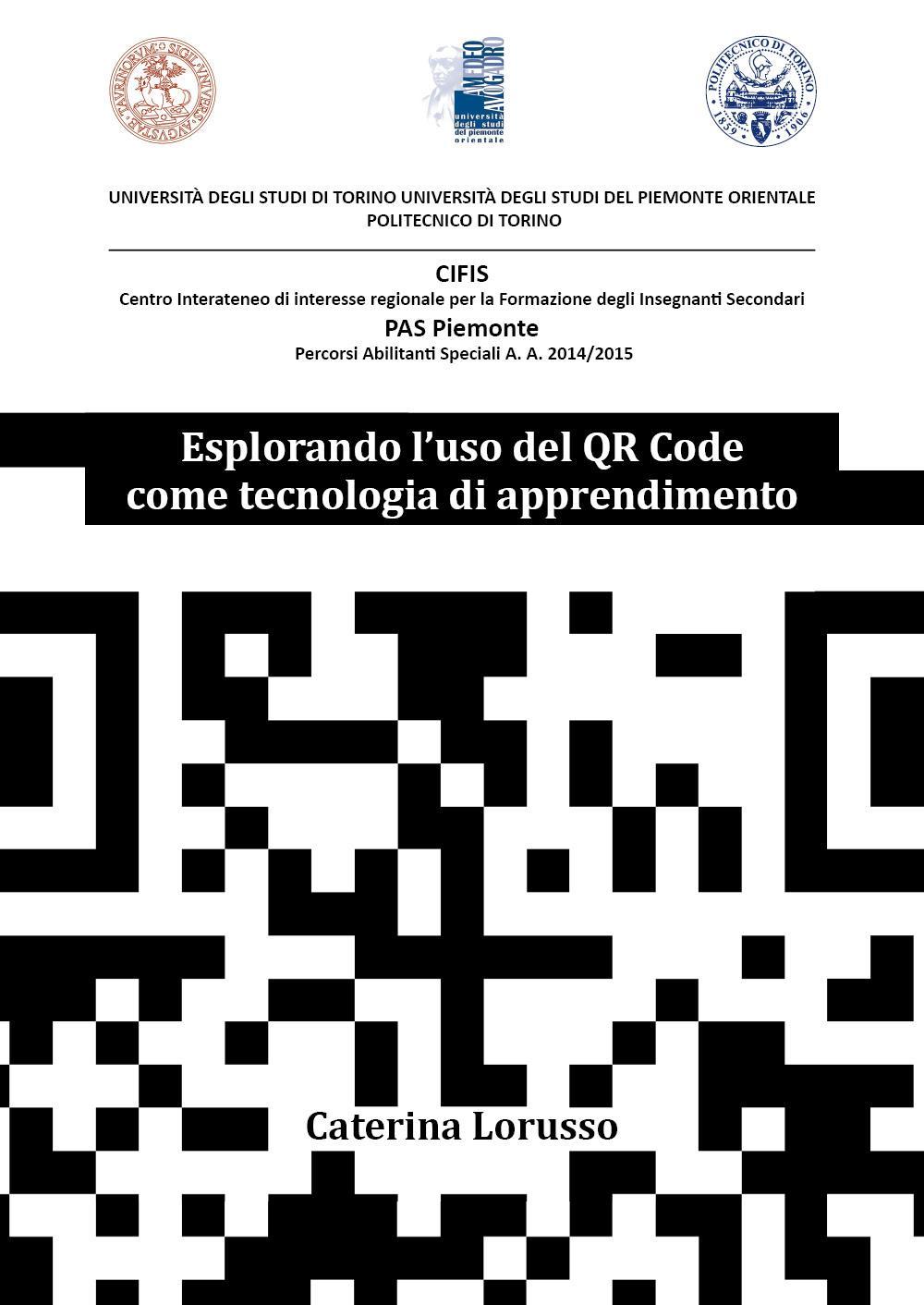 Esplorando l'uso del QR Code come tecnologia di apprendimento