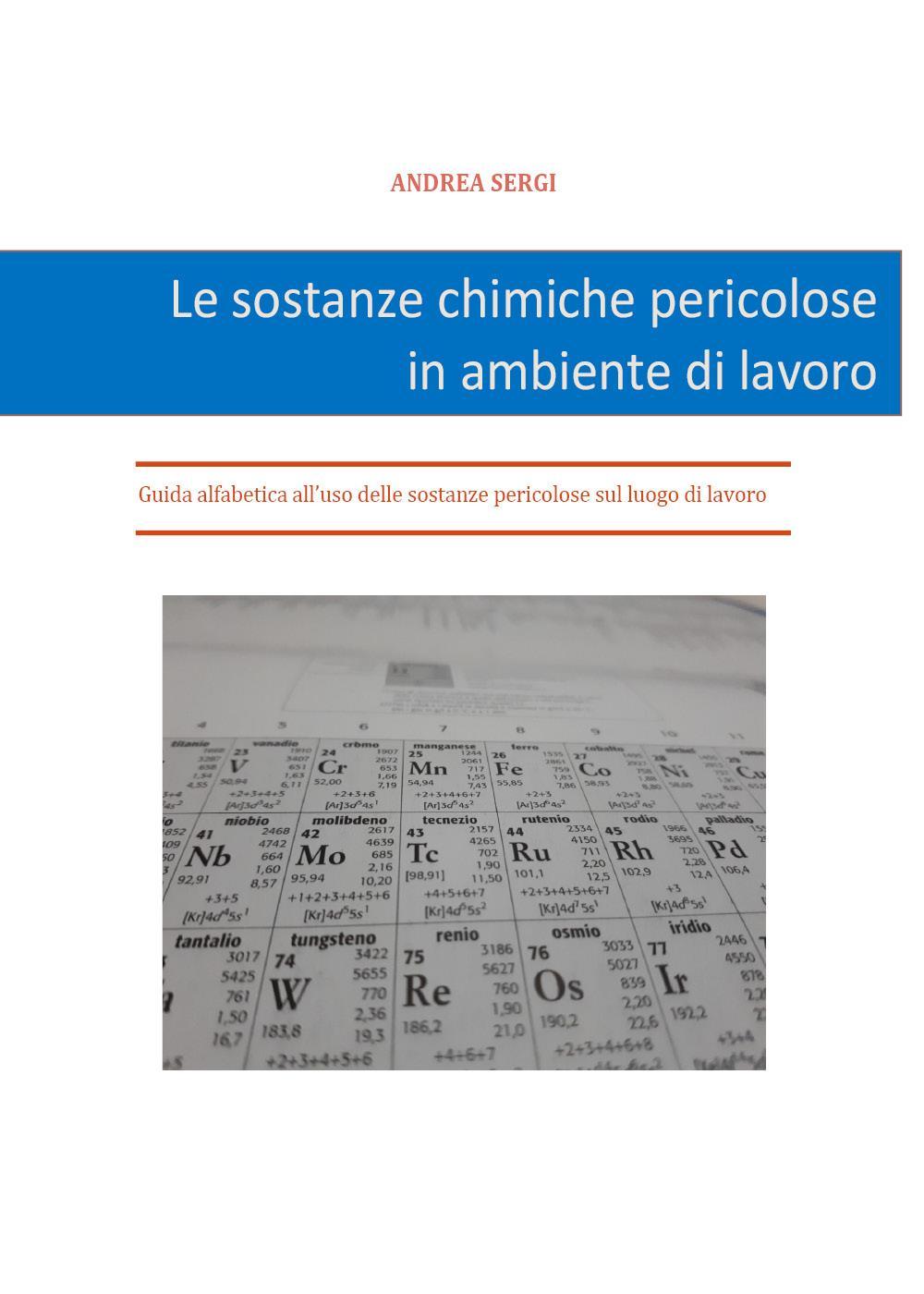 Le sostanze chimiche pericolose in ambiente di lavoro