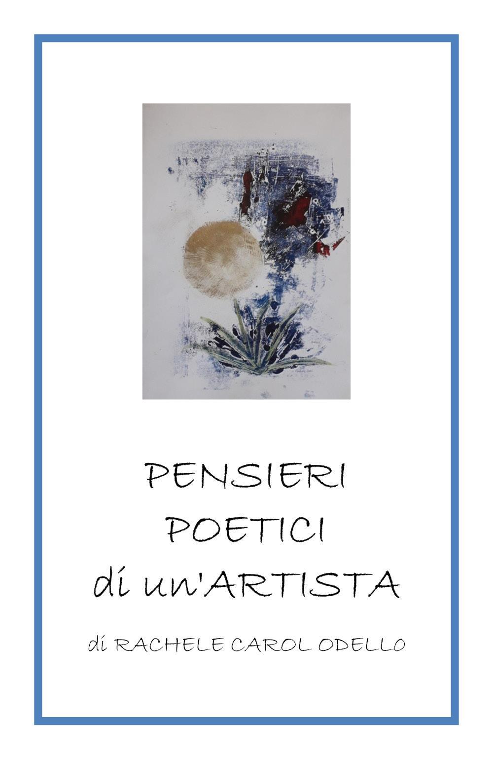 Pensieri poetici di un'artista