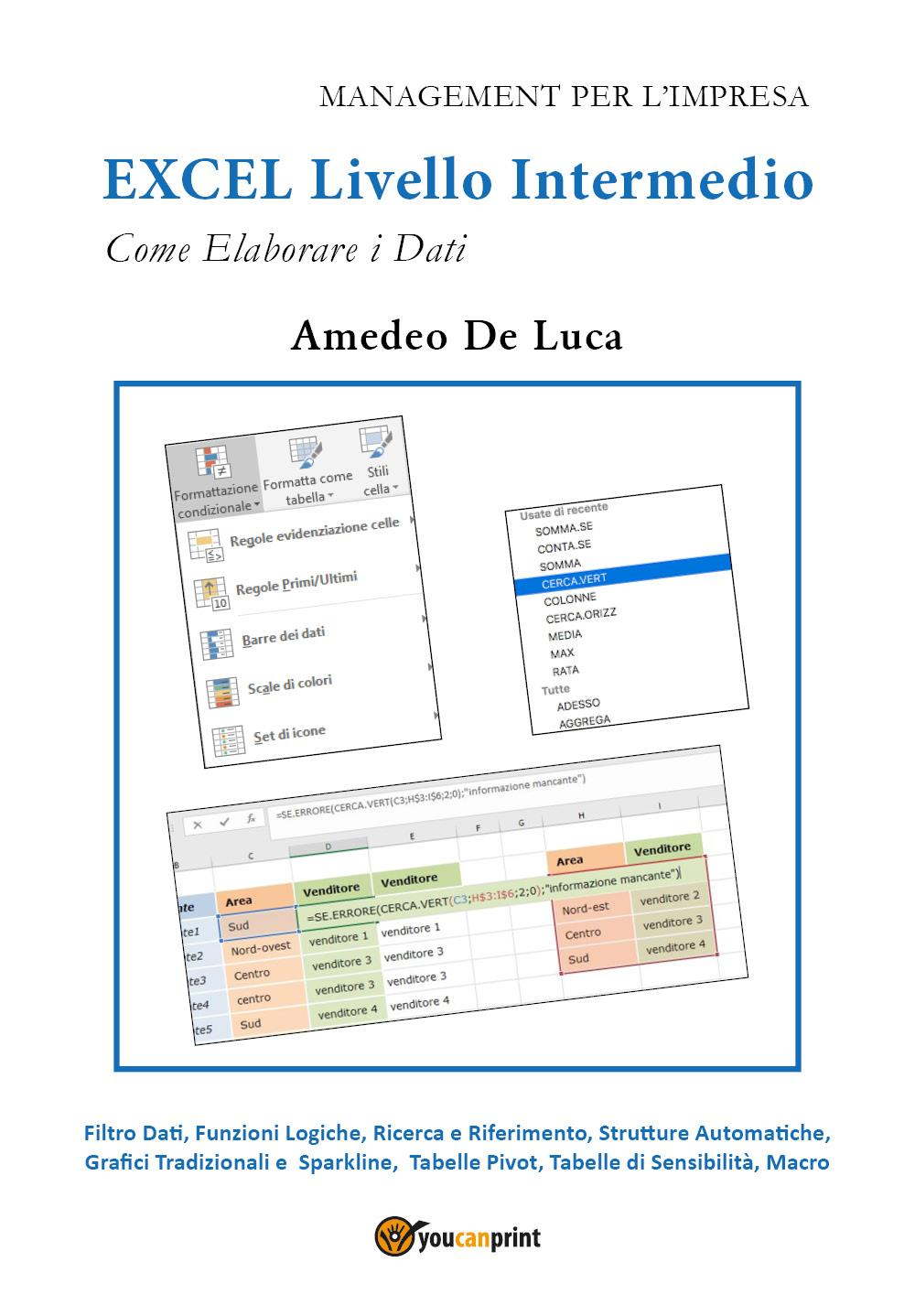 EXCEL Livello intermedio