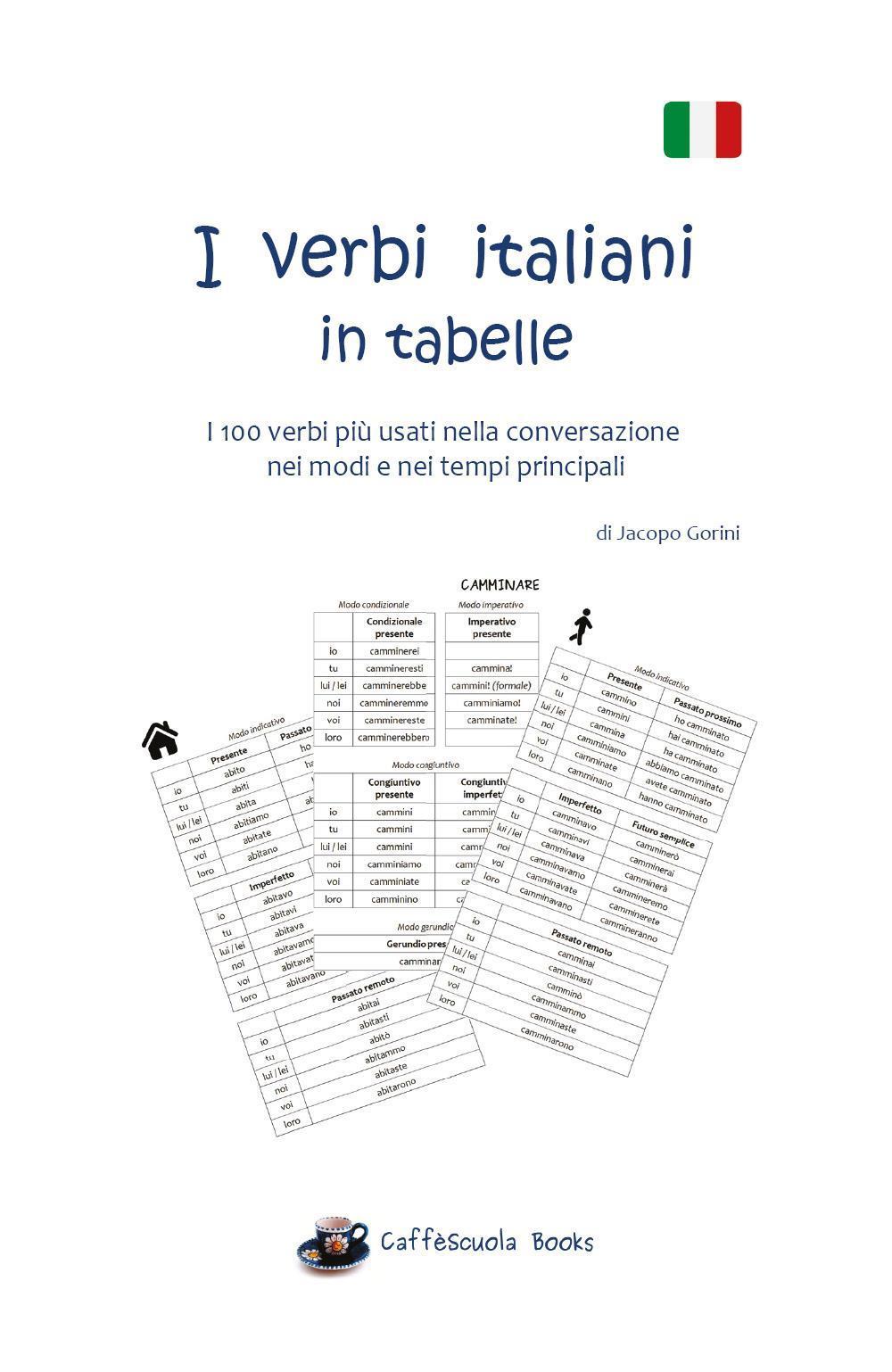 I verbi italiani in tabelle