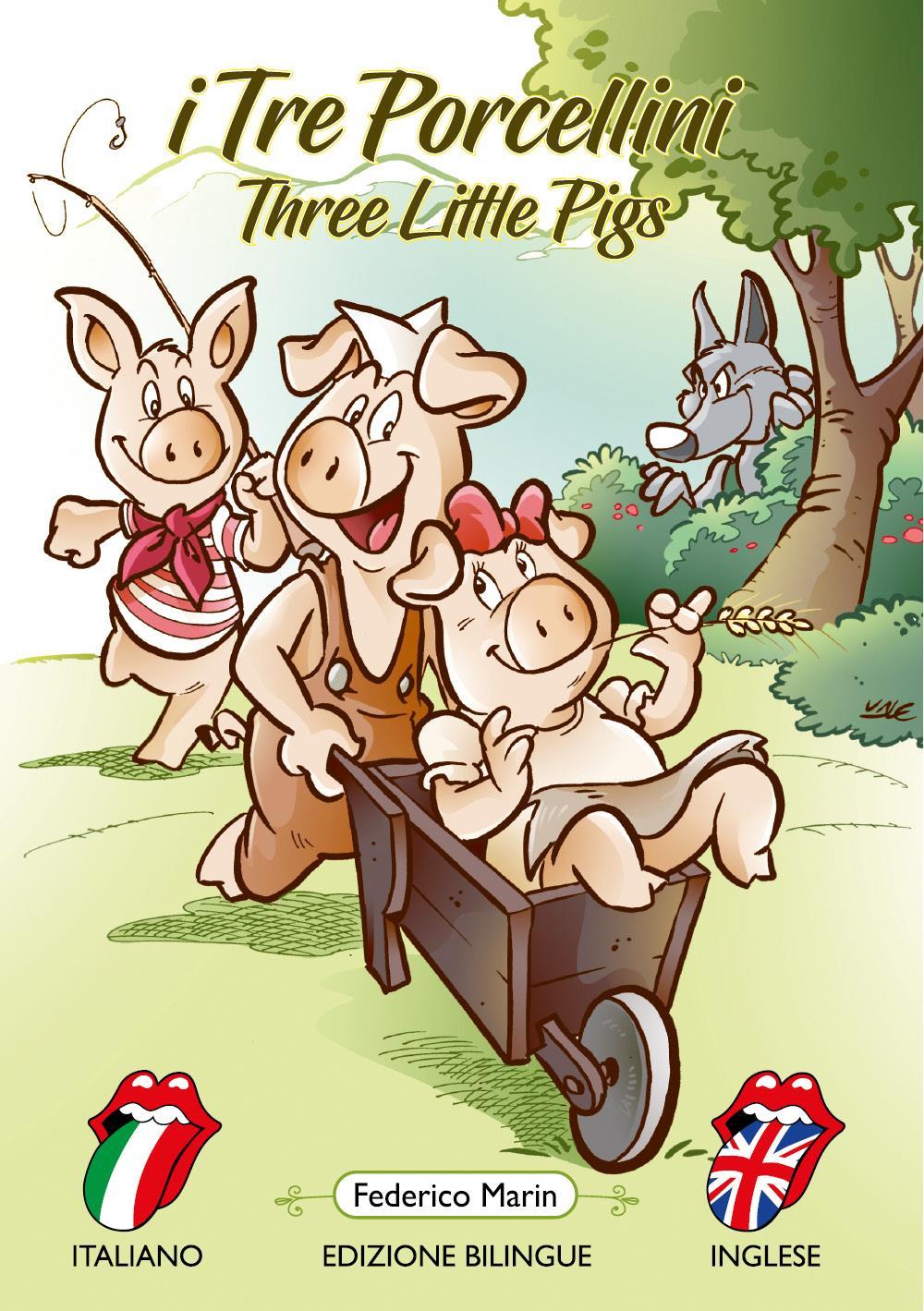 I tre porcellini - Three little pigs