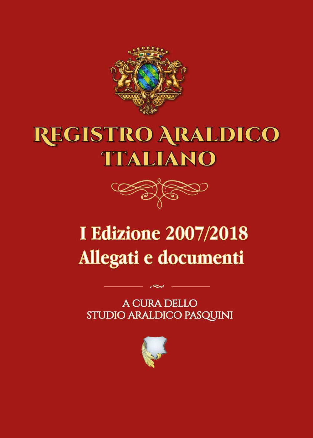 Registro Araldico Italiano - I Edizione - Vol. 2