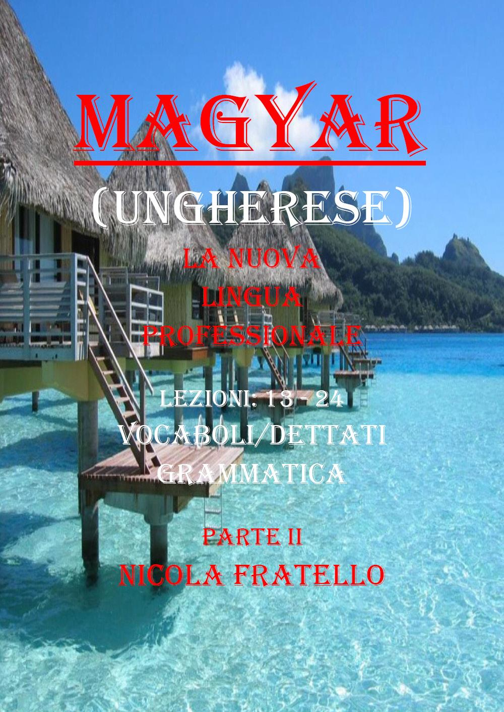 Magyar. La nuova lingua professionale. Parte II