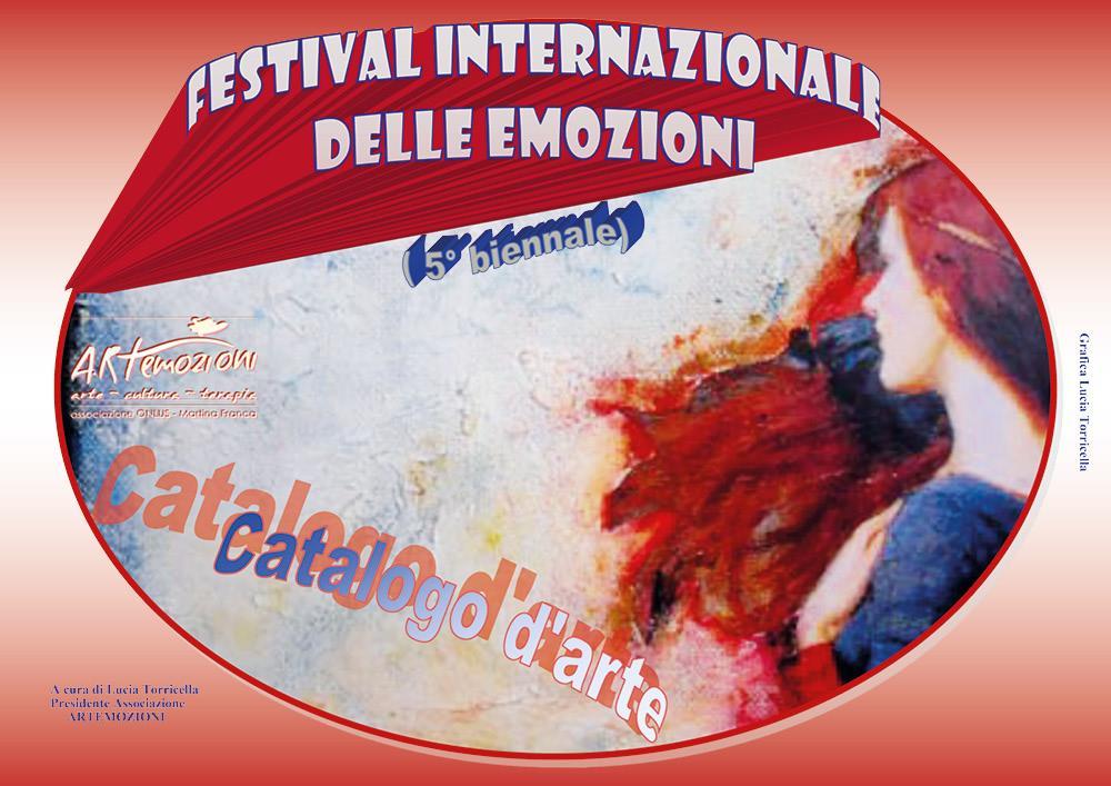 Catalogo della 5° biennale del Festival Internazionale delle Emozioni
