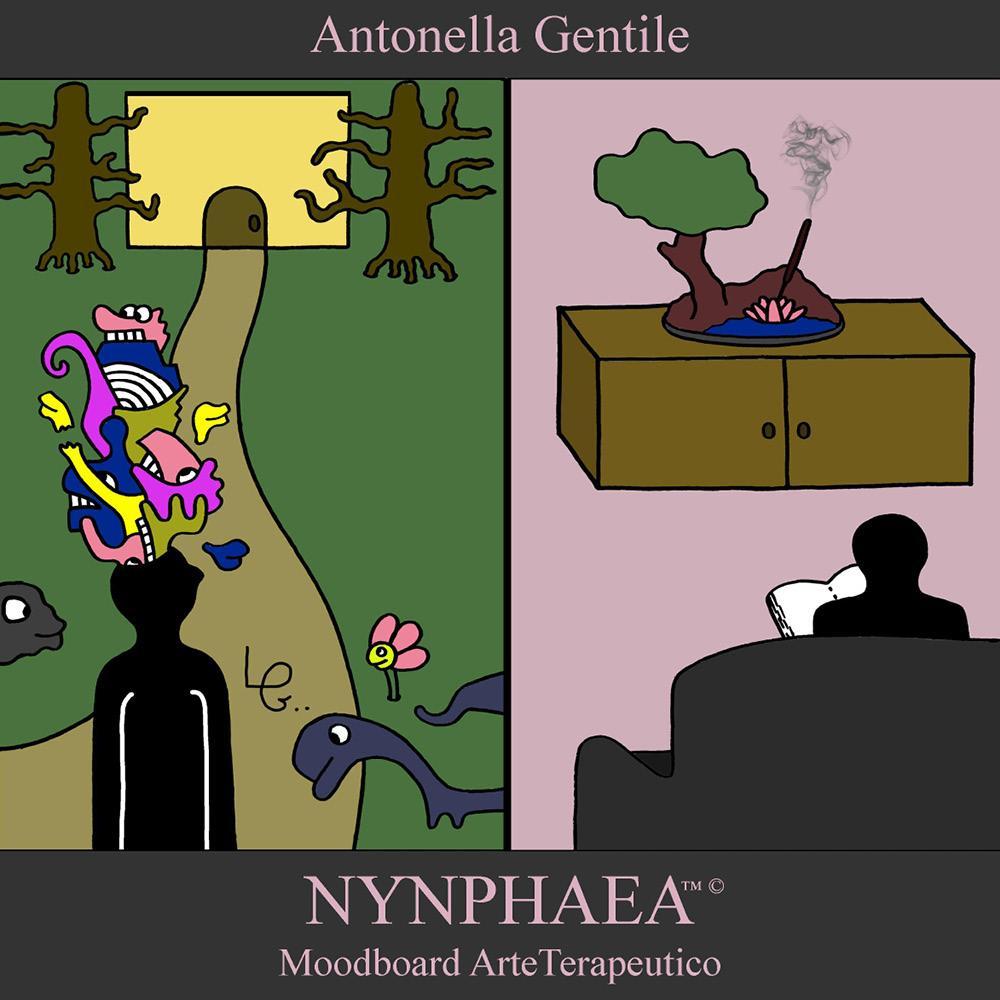 Nynphaea - Moodboard ArteTerapeutico