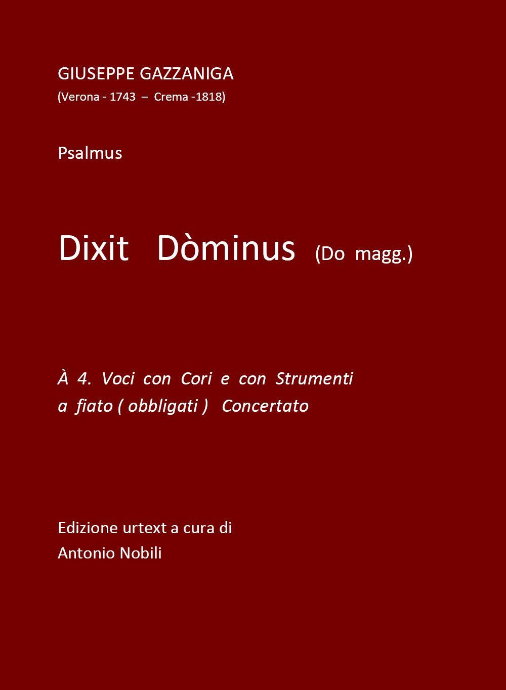 Dixit Dòminus