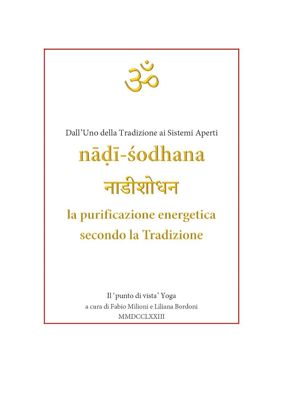 Nadi Shodana, la purificazione energetica secondo la Tradizione