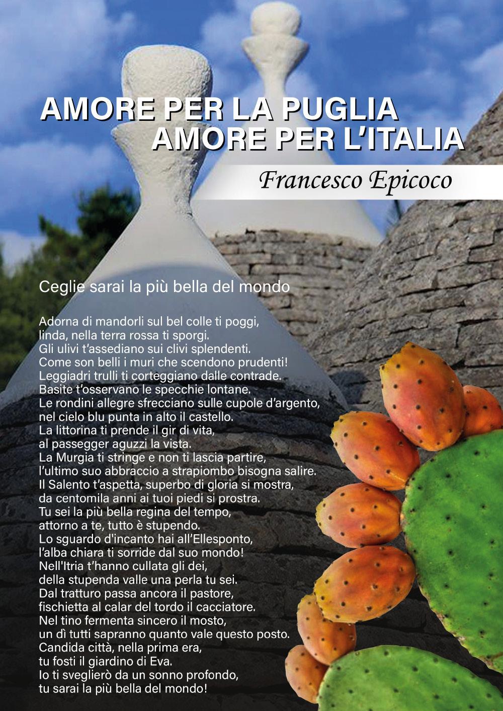 Amore per la Puglia Amore per l'Italia