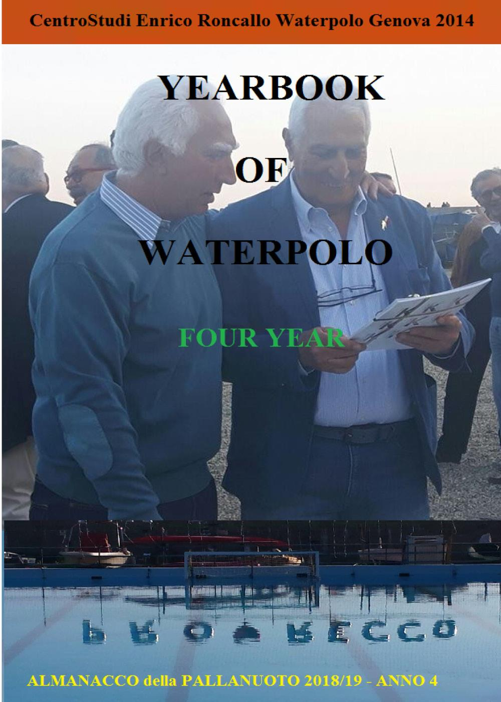 Yearbook of Waterpolo 2018/19 Vol. 4