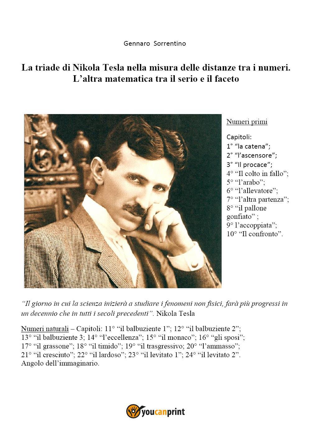 La triade di Nikola Tesla nella misura delle distanze tra i numeri
