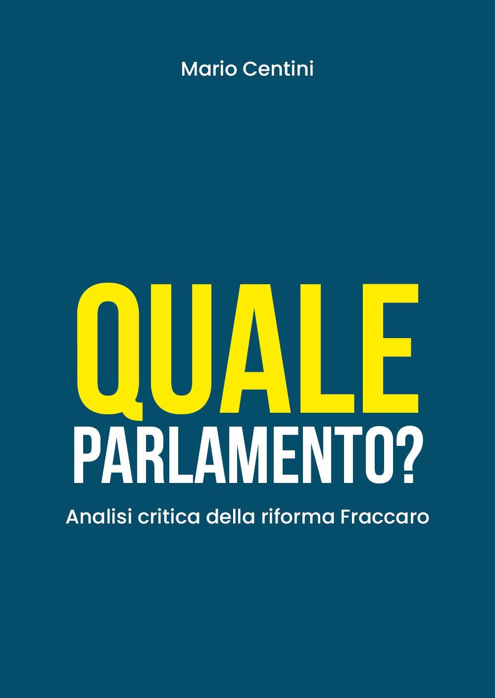 Quale Parlamento? Analisi critica della riforma Fraccaro