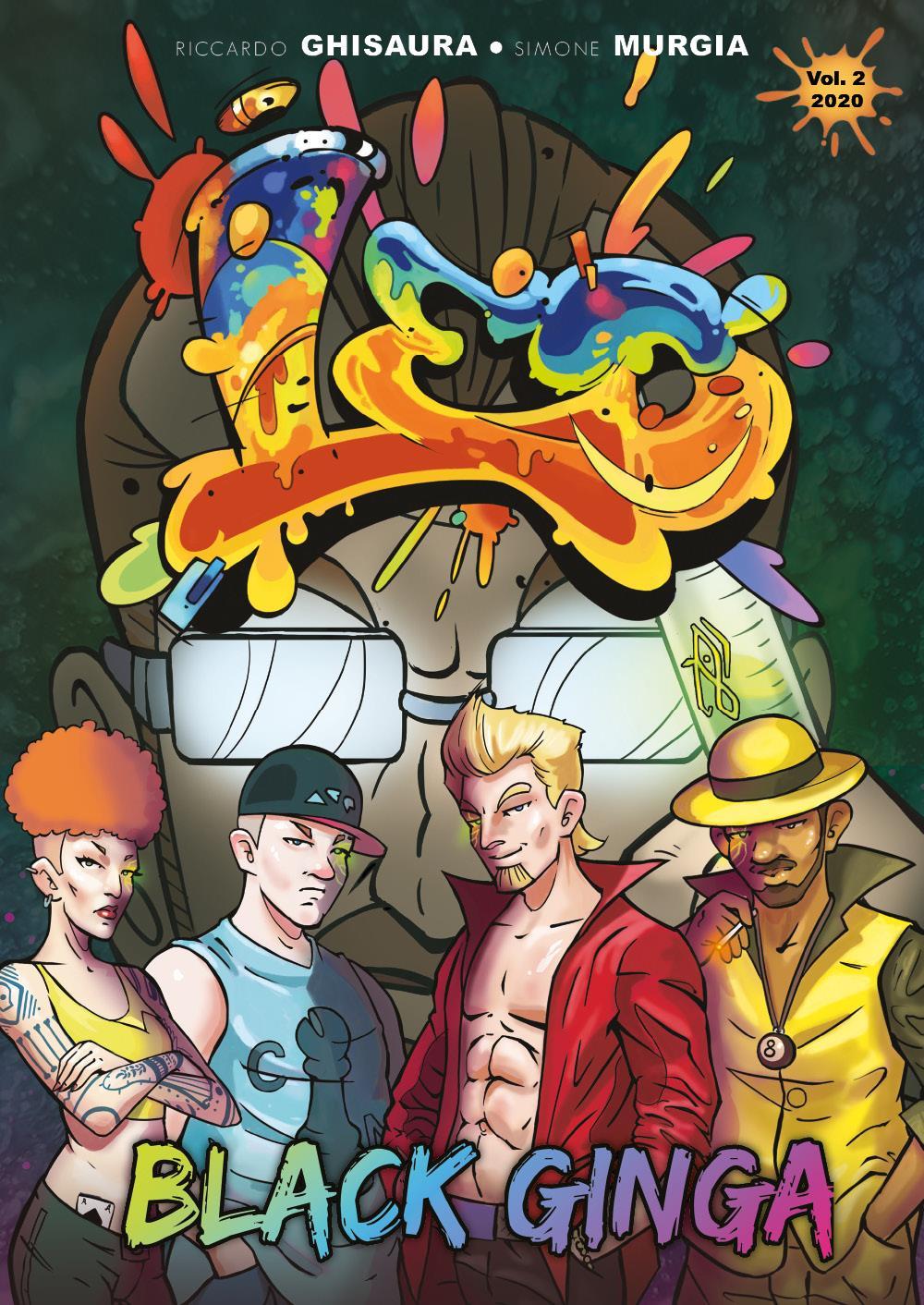 "Leo vol. 2 ""Black Ginga"" (Saga:Urban Battle)"