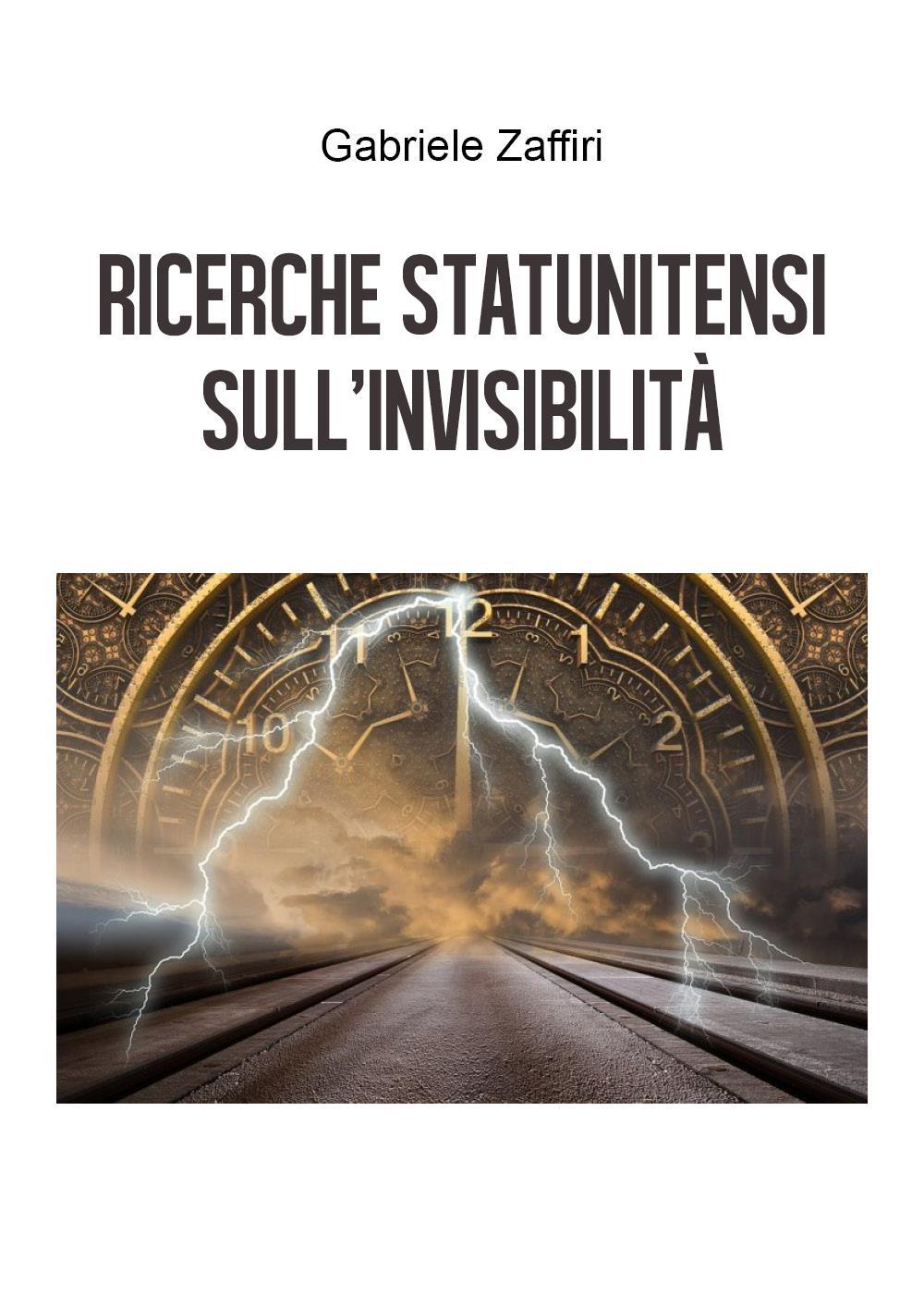 Ricerche statunitensi sull'invisibilità