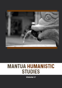 Mantua humanistic studies Vol.5