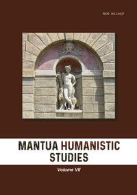 Mantua humanistic studies Vol.7
