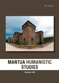 Mantua humanistic studies Vol.8