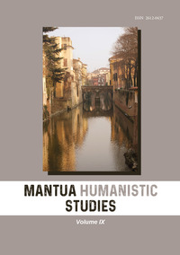 Mantua humanistic studies Vol.9