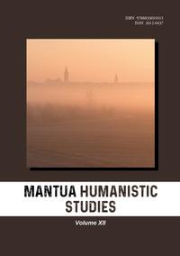 Mantua humanistic studies Vol.12