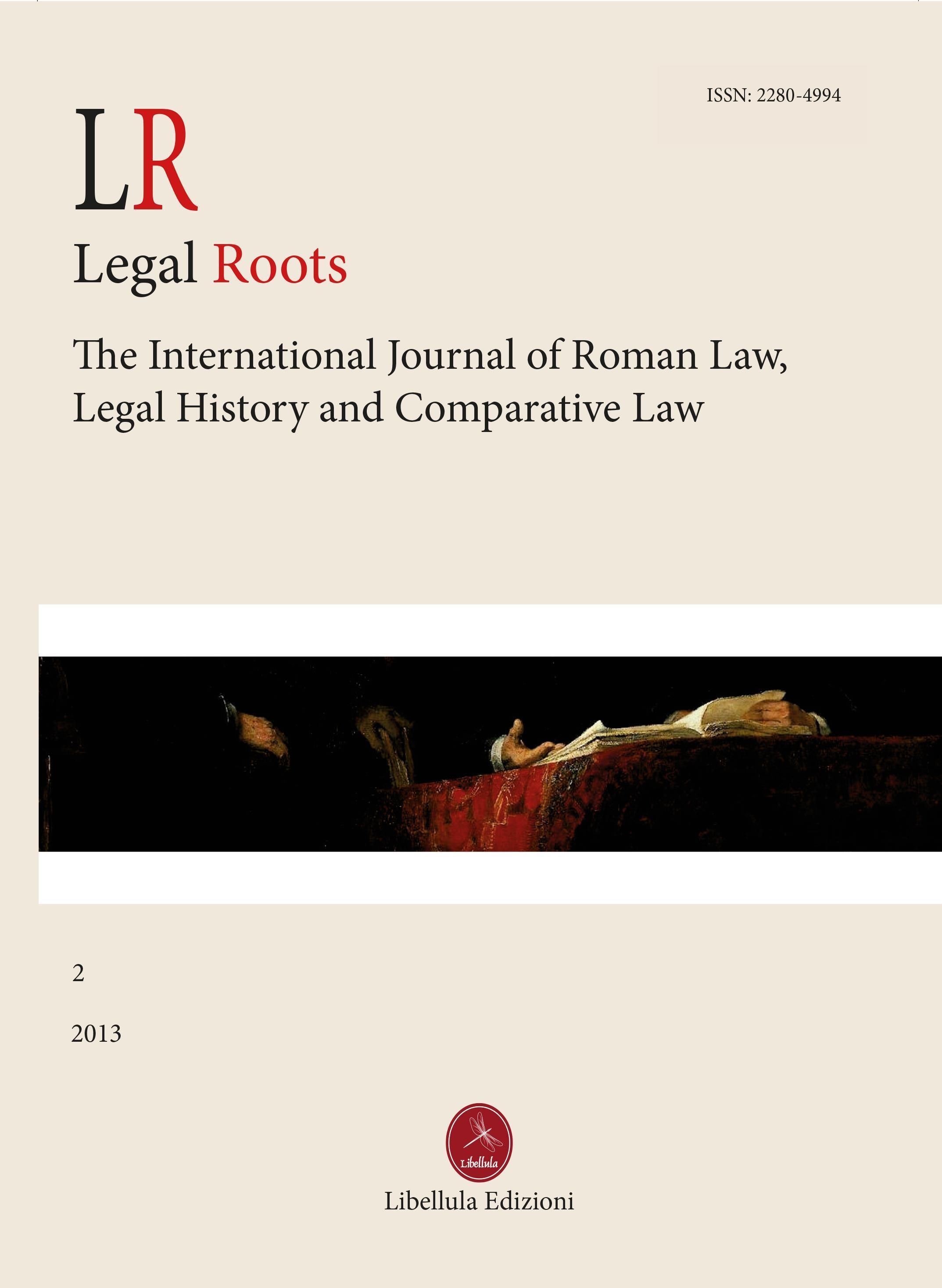 LR. Legal Roots Vol.2