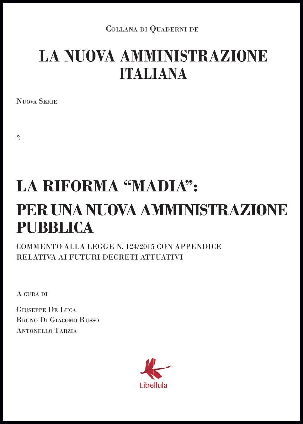 La nuova amministrazione italiana. La riforma Madia