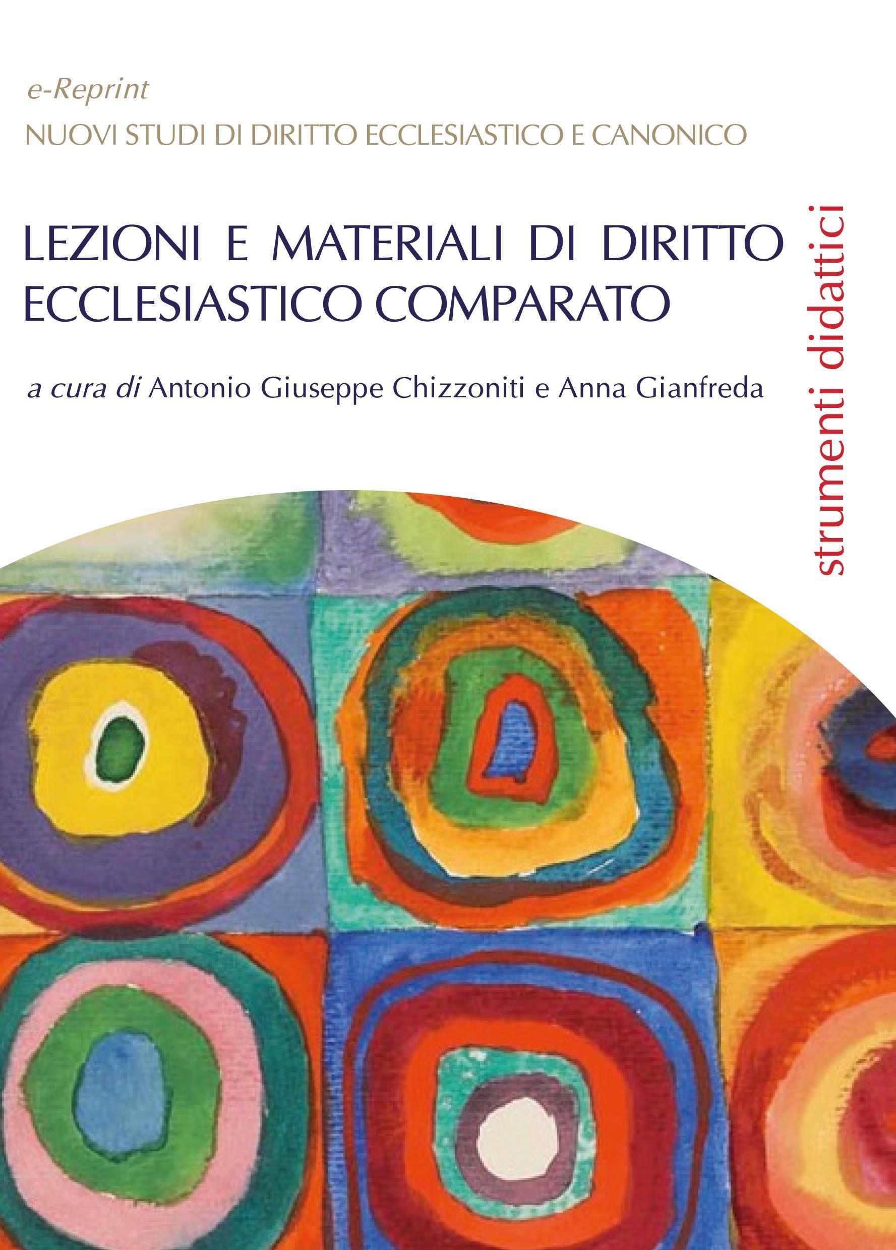 Lezioni e materiali di diritto ecclesiastico comparato