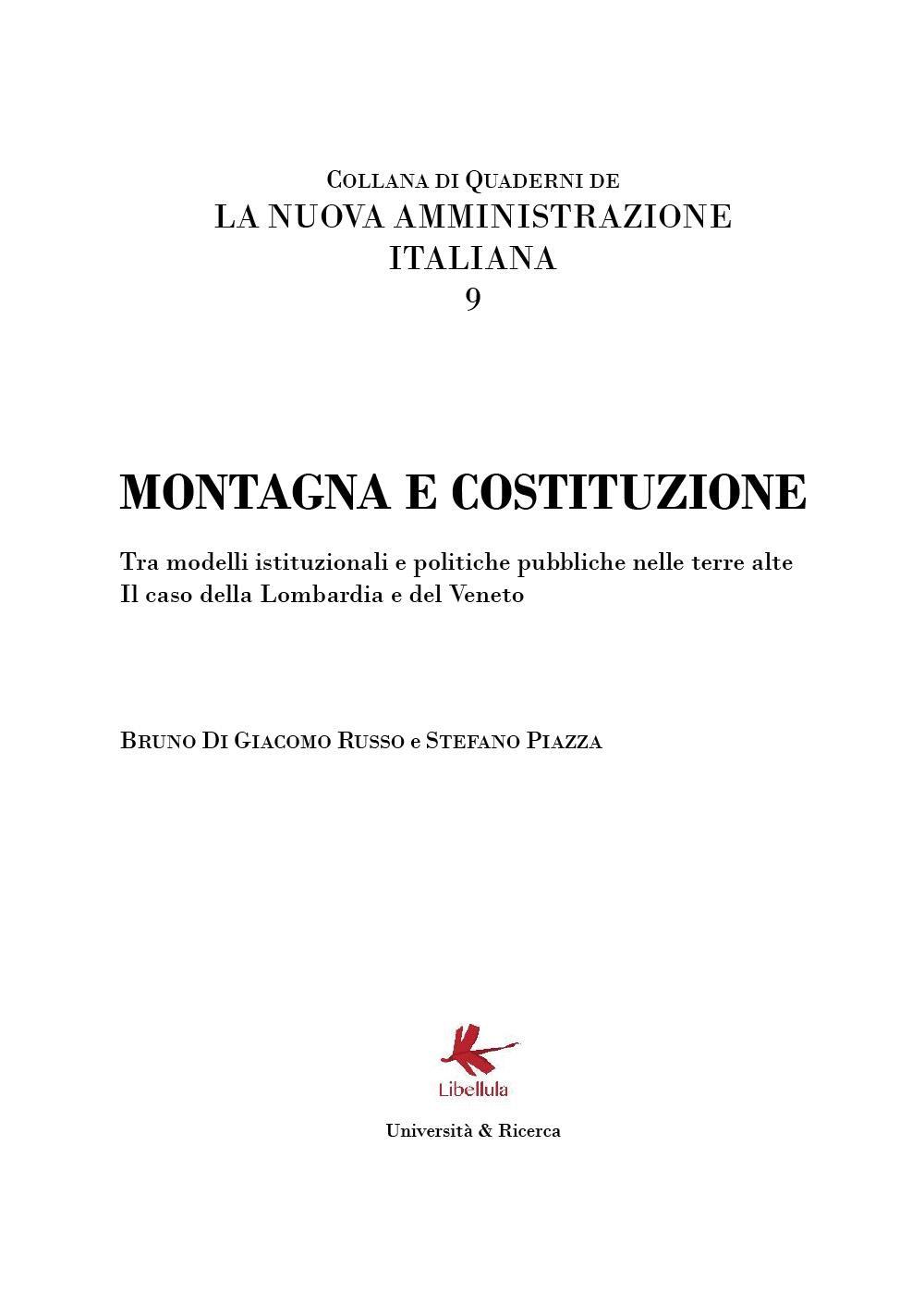 Montagna e Costituzione. La nuova Amministrazione italiana - 9